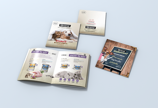 AGRO CS a.s.- GRAND pet food products catalogues